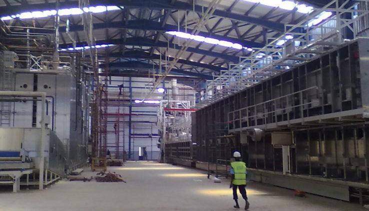 Dertal - Impianti industriali in Sardegna